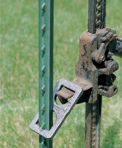 Metal T Post modren metal t post fence used with design inspiration