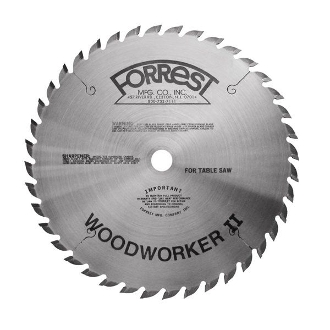 "FORREST 10""  WOODWORKER II TABLE SAW BLADE WWII-10407125"