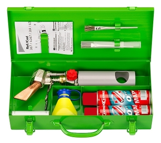 Express Self Contained Soldering Iron Kit by Freund Tools