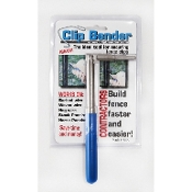 The Clip Bender T-Post Clip Installing Tool