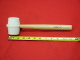 C.S. Osborne & Co. No. 396-2  White Rubber Mallet