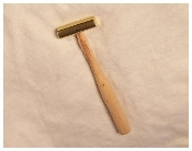 Bearcat Small Brass Hammer, 7 oz. Wooden Handled, No. BH-8