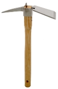 Zenport J6-06 Forged Stainless Archaeological Handpick & Mattock