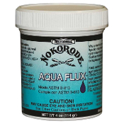 Rectorseal No.74047, Aqua Flux Paste Soldering Flux 4 oz.