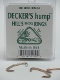 Hill's Hump No. 3 Hog Rings, by Decker Manufacturing Company