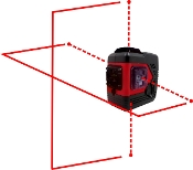 BRODY-X4P Red Laser Level by Beiter Technologies