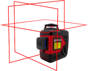 BART-3D Red Laser Level by Bitter Technologies
