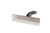 Decker No. 75-9 Scotch Curry Comb,  Round Tooth Stock Comb